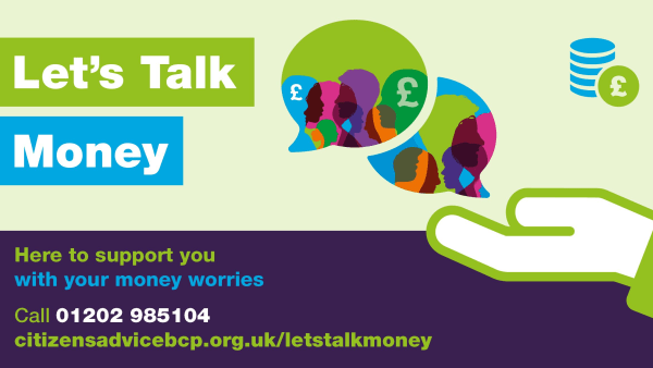 Let's Talk Money service launches to support local residents with money worries