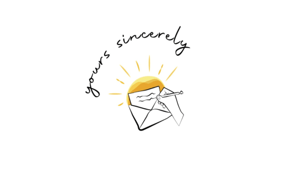 Yours sincerely - pen pal project